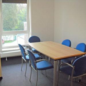 Beratungsraum der Kontakt- und Informationsstelle für Selbsthilfe Spremberg (KiSS)