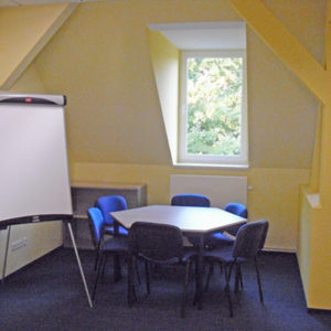 Großer Seminarraum 1 der Kontakt- und Informationsstelle für Selbsthilfe Spremberg (KiSS)