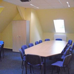 Großer Seminarraum 2 der Kontakt- und Informationsstelle für Selbsthilfe Spremberg (KiSS)