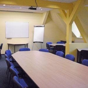 Großer Seminarraum 3 der Kontakt- und Informationsstelle für Selbsthilfe Spremberg (KiSS)