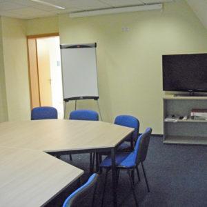 Gruppenraum 2 der Kontakt- und Informationsstelle für Selbsthilfe Spremberg (KiSS)